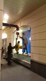 Замена стеклопакетов в Смоленском пассаже