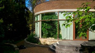 Зимний сад в особняке в на Рублевском шоссе