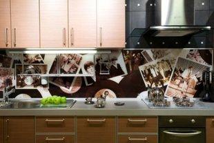 Фартук на кухне с фотопечатью, группа Битлз